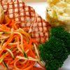 Grilled Atlantic Salmon